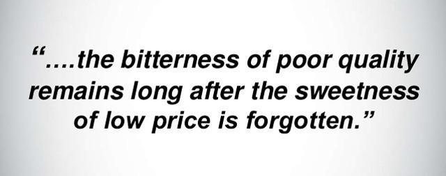 Resnica o ceni in kakovosti