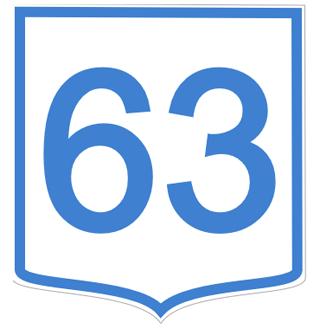 63 znakov