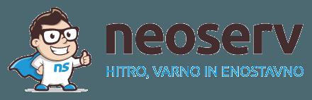 Registracija domene NEOSERV